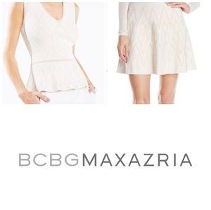 BCBGMAXAZRIA Queeny Alonya skirt set